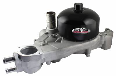 Tuff Stuff Performance - Platinum Style Water Pump w/Pulley Standard Flow Aluminum Casting As Cast 1310C