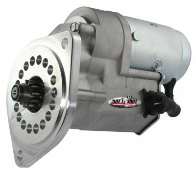 Tuff Stuff Performance - Gear Reduction Starter 2 Bolt Mounting White Zinc 13124