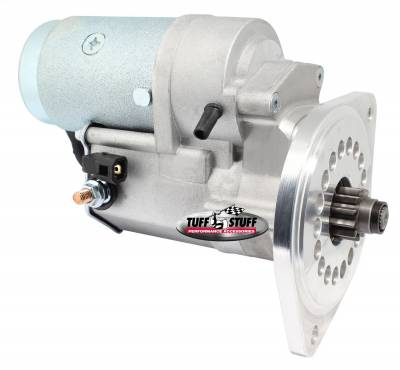 Tuff Stuff Performance - Gear Reduction Starter 2 Hole Mounting-One Hole Is Threaded Zinc 13149