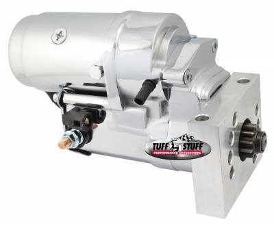 Tuff Stuff Performance - Gear Reduction Starter Tuff Torque Chrome 13310A