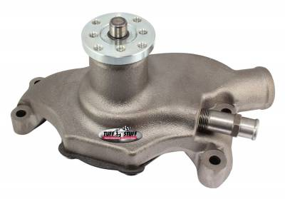 "Tuff Stuff Performance Accessories - Chevy water pump S.B. short As Cast SuperCool ""SMOOTHIE"" 1354NS"