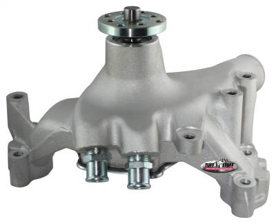 Tuff Stuff Performance - Platinum SuperCool Water Pump 7.281 in. Hub Height 5/8 in. Pilot Aluminum Casting (2) Threaded Water Ports As Cast 1461AC