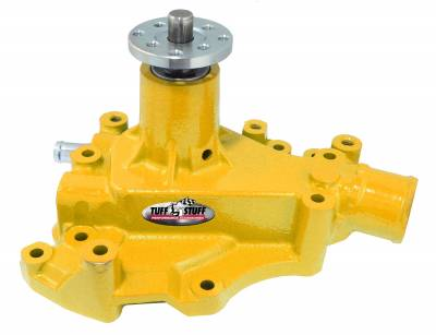 Tuff Stuff Performance - SuperCool Water Pump 5.687 in. Hub Height 5/8 in. Pilot w/Driver Side Inlet Cleveland Only Yellow 1469CYELLOW