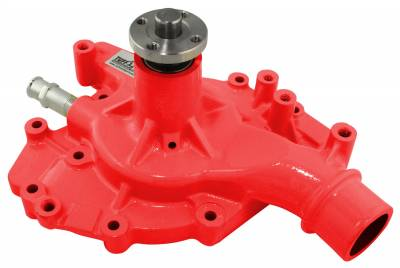 Tuff Stuff Performance - Standard Style Water Pump 5.562 in. Hub Height 5/8 in. Pilot Standard Flow Threaded Water Port Red 1470NCRED