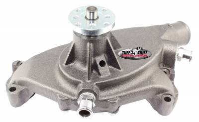 Tuff Stuff Performance - SuperCool Water Pump 5.750 in. Hub Height 3/4 in. Pilot Short (2) Threaded Water Ports As Cast 1484N