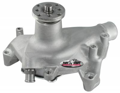 Tuff Stuff Performance - Platinum SuperCool Water Pump 6.937 in. Hub Height 5/8 in. Pilot Long Reverse Rotation Aluminum Casting As Cast 1511NCREV