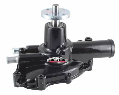Tuff Stuff Performance - Platinum SuperCool Water Pump 5.750 in. Hub Height 5/8 in. Pilot Aluminum Casting Stealth Black 1625NC