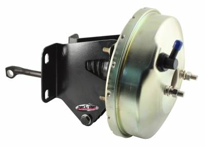 Tuff Stuff Performance - Power Brake Booster 9 in. Slim Line Diaphragm Incl. Booster Mtg. Bracket/3/8 in.-16 Mtg. Studs And Nuts Fits Hot Rods/Customs/Muscle Cars Gold Zinc 2231NBJ