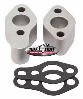 Tuff Stuff Performance - Water Pump Extension Incl. 2 Extensions/2 Gaskets Plain 2254C