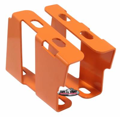 Tuff Stuff Performance - Brake Booster Brackets Incl. Left And Right Side 1955-1964 GM For Brake Booster PN[2121/2122/2123/2124/2221/2222/2223/2228/2229/2231] Orange Powdercoat 4651BORANGE