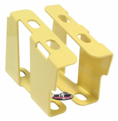 Tuff Stuff Performance - Brake Booster Brackets Incl. Left And Right Side 1955-1964 GM For Brake Booster PN[2121/2122/2123/2221/2222/2223] Yellow 4651BYELLOW