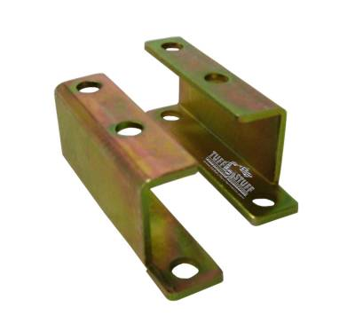 Tuff Stuff Performance - Brake Booster Brackets Incl. Left And Right Side 1955-1958 GM For Brake Booster PN[2121/2122/2123/2221/2222/2223] Gold Zinc 4652B