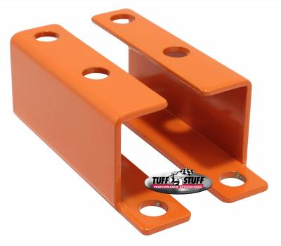 Tuff Stuff Performance - Brake Booster Brackets Incl. Left And Right Side 1955-1958 GM For Brake Booster PN[2121/2122/2123/2124/2221/2222/2223/2228/2229/2231] Orange Powdercoat 4652BORANGE