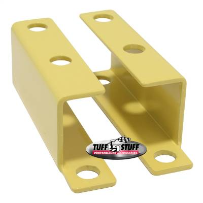 Tuff Stuff Performance - Brake Booster Brackets Incl. Left And Right Side 1955-1958 GM For Brake Booster PN[2121/2122/2123/2221/2222/2223] Yellow Powdercoat 4652BYELLOW