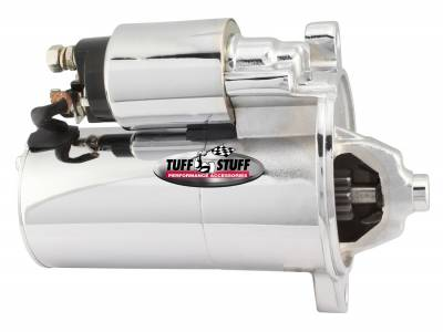 Tuff Stuff Performance - Gear Reduction Starter 2 Bolt Mounting Chrome PMGR 1.4kw Series 1.9 HP 6132A