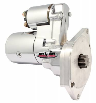 Tuff Stuff Performance - Gear Reduction Starter 3.75:1 1.9 HP 2 Bolt Mounting Chrome 6585A