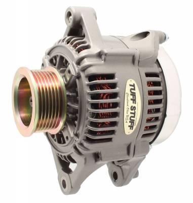 Tuff Stuff Performance - Alternator 175 AMP Upgrade OEM Wire 7 Groove Pulley Internal Regulator As Cast 7510D