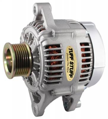 Tuff Stuff Performance - Alternator 90 AMP OEM Wire 7 Groove Pulley Internal Regulator Dodge/Jeep As Cast 7511B