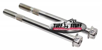 Tuff Stuff Performance - Starter Bolts Fits Most Full Size Chevy/Buick/Olds/Pontiac/Tuff Stuff PN[3510/3570] Starters w/3/8-16 in. x 4 5/8 in. Bolts Chrome 7623A