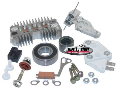 Tuff Stuff Performance - Alternator Repair Kit GM 10SE OEM Wire Incl. All Parts And Bearings To Rebuild Tuff Stuff Alternator PN[7127NA] 7700A