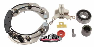 Tuff Stuff Performance - Alternator Repair Kit Ford 1Gen Incl. All Parts And Bearings To Rebuild Tuff Stuff Alternator PN[7078NA] 7700D