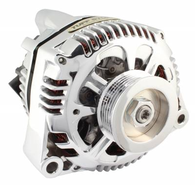 Tuff Stuff Performance - Alternator 110 AMP OEM Wire 6 Groove Pulley Polished 7721NAP