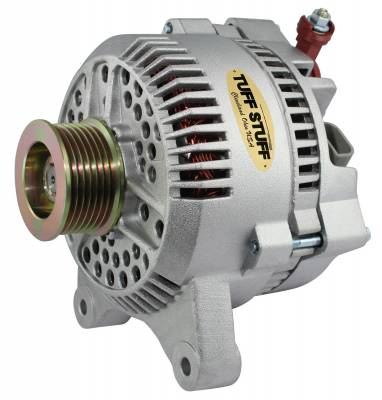 Tuff Stuff Performance - Alternator 150 AMP OEM Wire 7 Groove Pulley Internal Regulator As Cast 7764