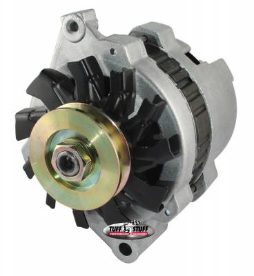 Tuff Stuff Performance - Alternator 80 AMP 1 Wire 12 Volt V Groove Pulley As Cast 7937