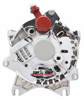 Tuff Stuff Performance - Alternator 200 AMP Upgrade OEM Wire 6 Groove Pulley Chrome 8252D