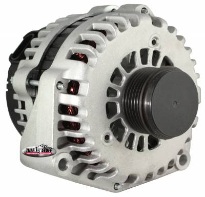 Tuff Stuff Performance - Alternator 200 AMP OEM Wire 6 Groove Clutch Pulley As Cast 8299C