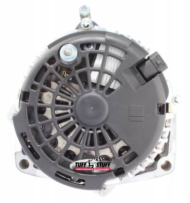 Tuff Stuff Performance - Alternator 200 AMP OEM Wire 6 Groove Pulley Aluminum Polished 8302CP