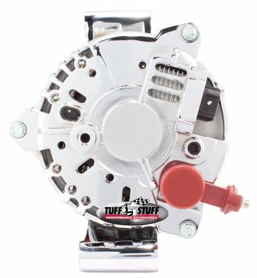 Tuff Stuff Performance - Alternator 200 AMP OEM Wire 6 Groove Pulley Chrome 8437D