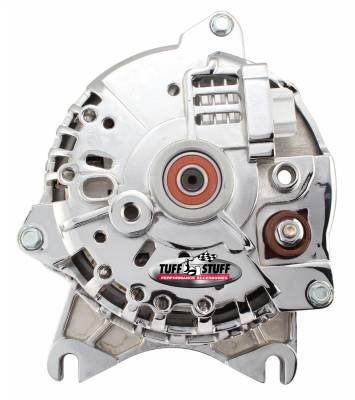 Tuff Stuff Performance - Alternator 200 AMP OEM Wire 6 Groove Clutch Pulley Chrome Roush Supercharger 8438DSC