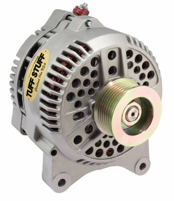Tuff Stuff Performance - Alternator 200 AMP OEM Wire 7 Groove Pulley Internal Regulator As Cast 7764E