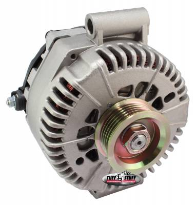 Tuff Stuff Performance - Alternator 200 AMP Upgrade OEM Wire 6 Groove Pulley Internal Regulator As Cast 7787F