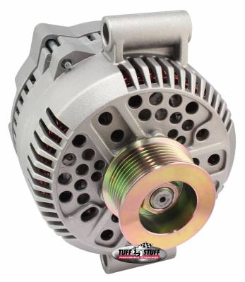 Tuff Stuff Performance - Alternator 200 AMP Upgrade OEM Wire 8 Groove Pulley Internal Regulator As Cast 7768F