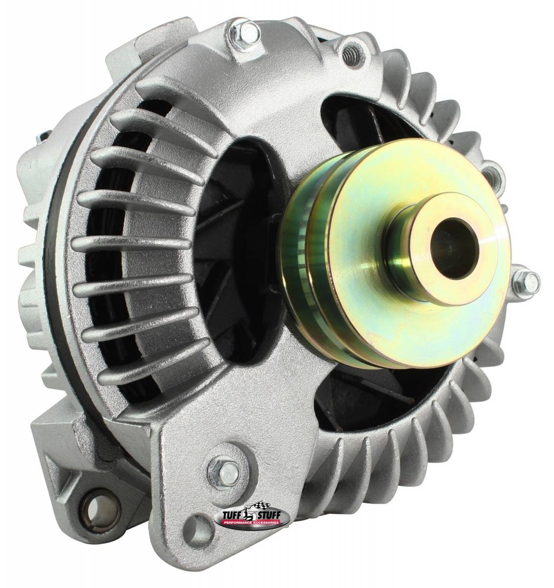 Tuff Stuff Performance - Alternator 100 AMP 1 Wire Double Groove Pulley As Cast 8509DDP