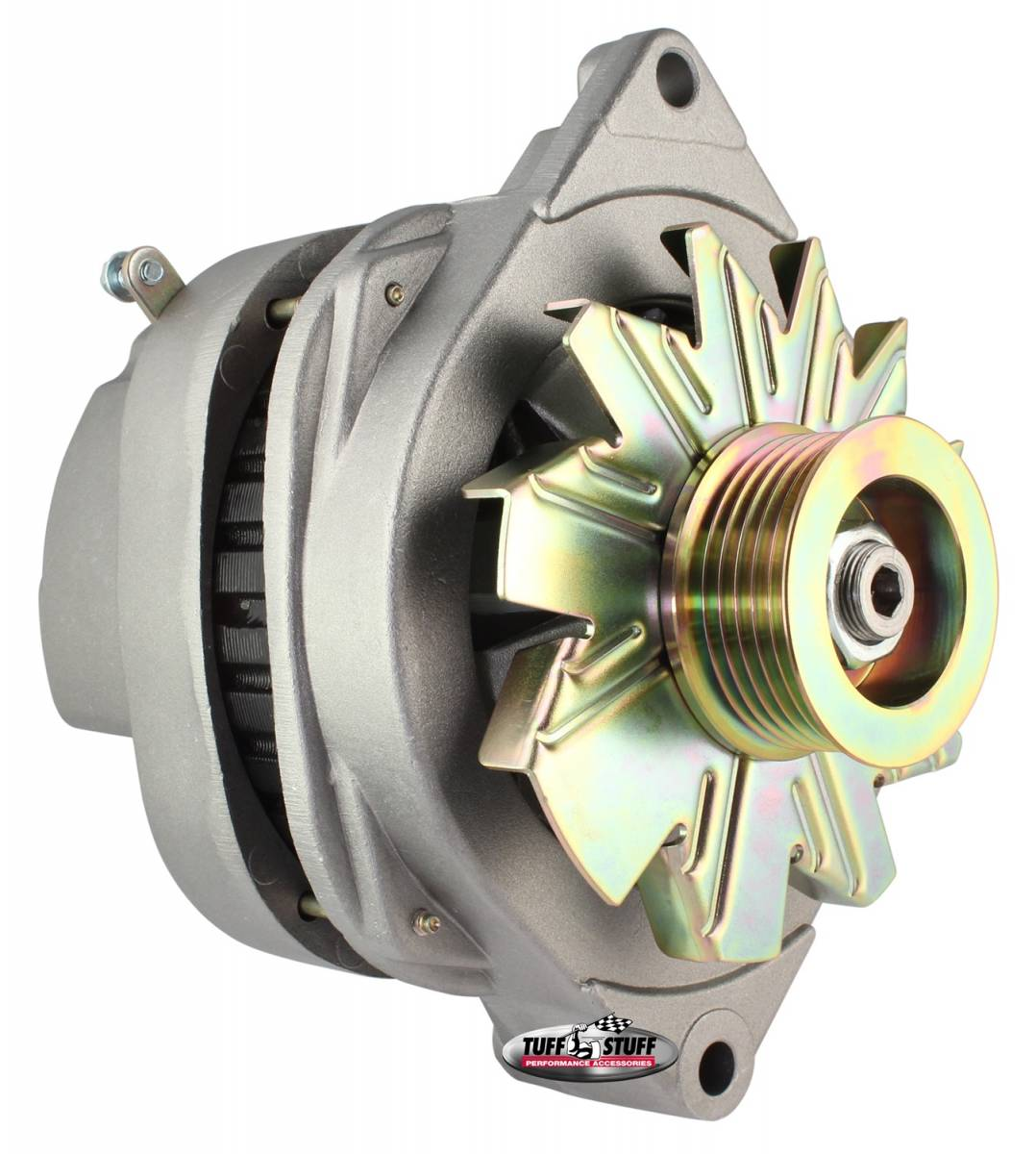 Tuff Stuff Performance - Alternator 170 AMP OEM Wire 6 Groove Pulley Factory Cast PLUS+ 8112ND