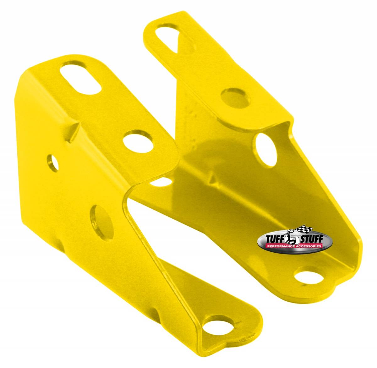 Tuff Stuff Performance - Brake Booster Brackets Incl. Left And Right Side 1967-1972 GM For Brake Booster PN[2121/2122/2123/2124/2221/2222/2223/2228/2229/2231] Yellow Powdercoat 4650BYELLOW