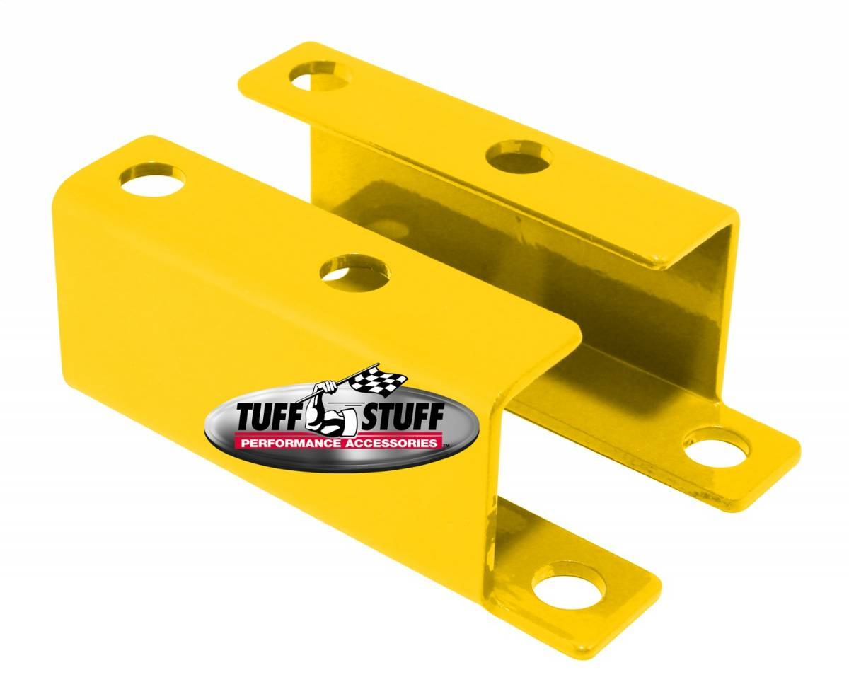 Tuff Stuff Performance - Brake Booster Brackets Incl. Left And Right Side 1955-1958 GM For Brake Booster PN[2121/2122/2123/2124/2221/2222/2223/2228/2229/2231] Yellow Powdercoat 4652BYELLOW
