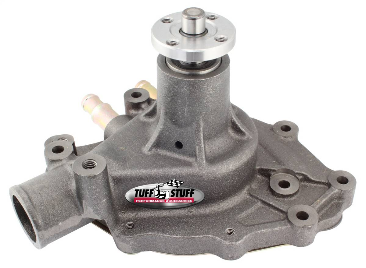 Tuff Stuff Performance - SuperCool Water Pump 5.437 in. Hub Height 5/8 in. Pilot w/Pass. Side Inlet As Cast 1432N