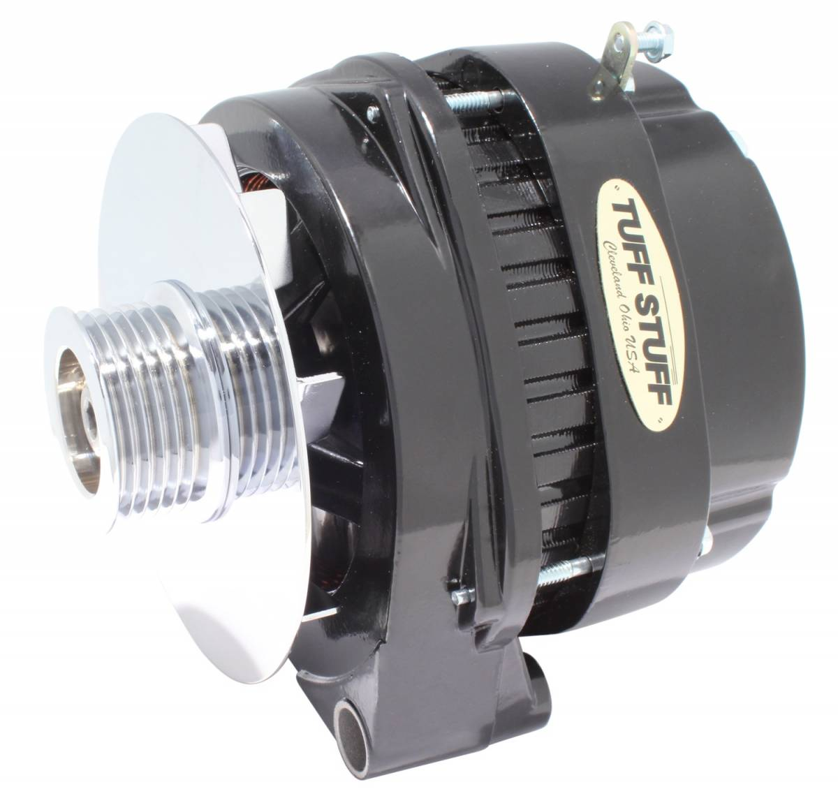 Tuff Stuff Performance - Alternator 170 AMP OEM Wire 6 Groove Pulley Withstands Extreme Conditions Black 8219NB