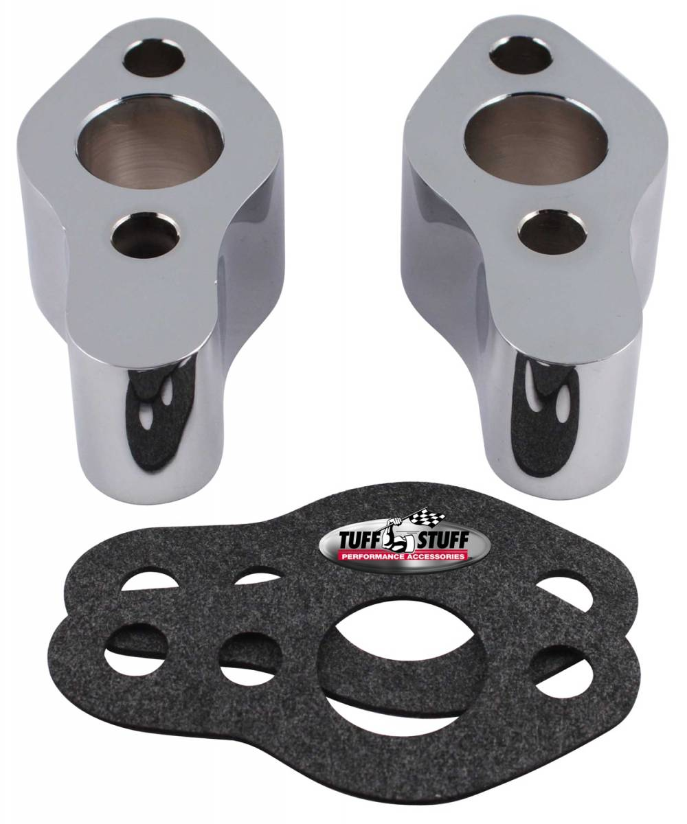 Tuff Stuff Performance - Water Pump Extension Incl. 2 Extensions/2 Gaskets Polished 2254B