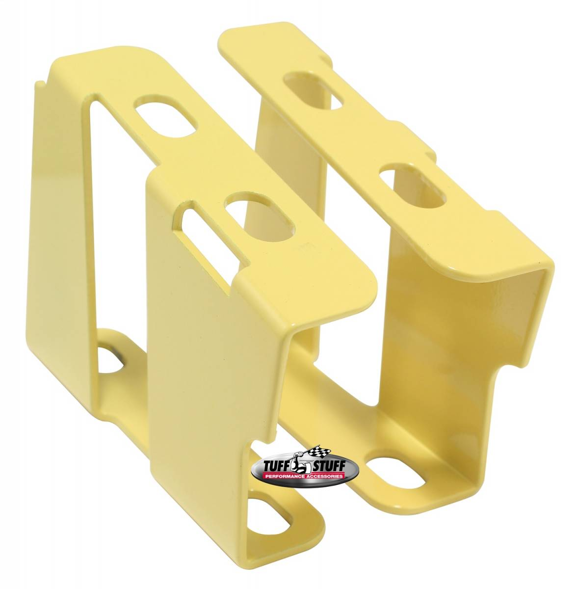Tuff Stuff Performance - Brake Booster Brackets Incl. Left And Right Side 1955-1964 GM For Brake Booster PN[2121/2122/2123/2124/2221/2222/2223/2228/2229/2231] Yellow 4651BYELLOW