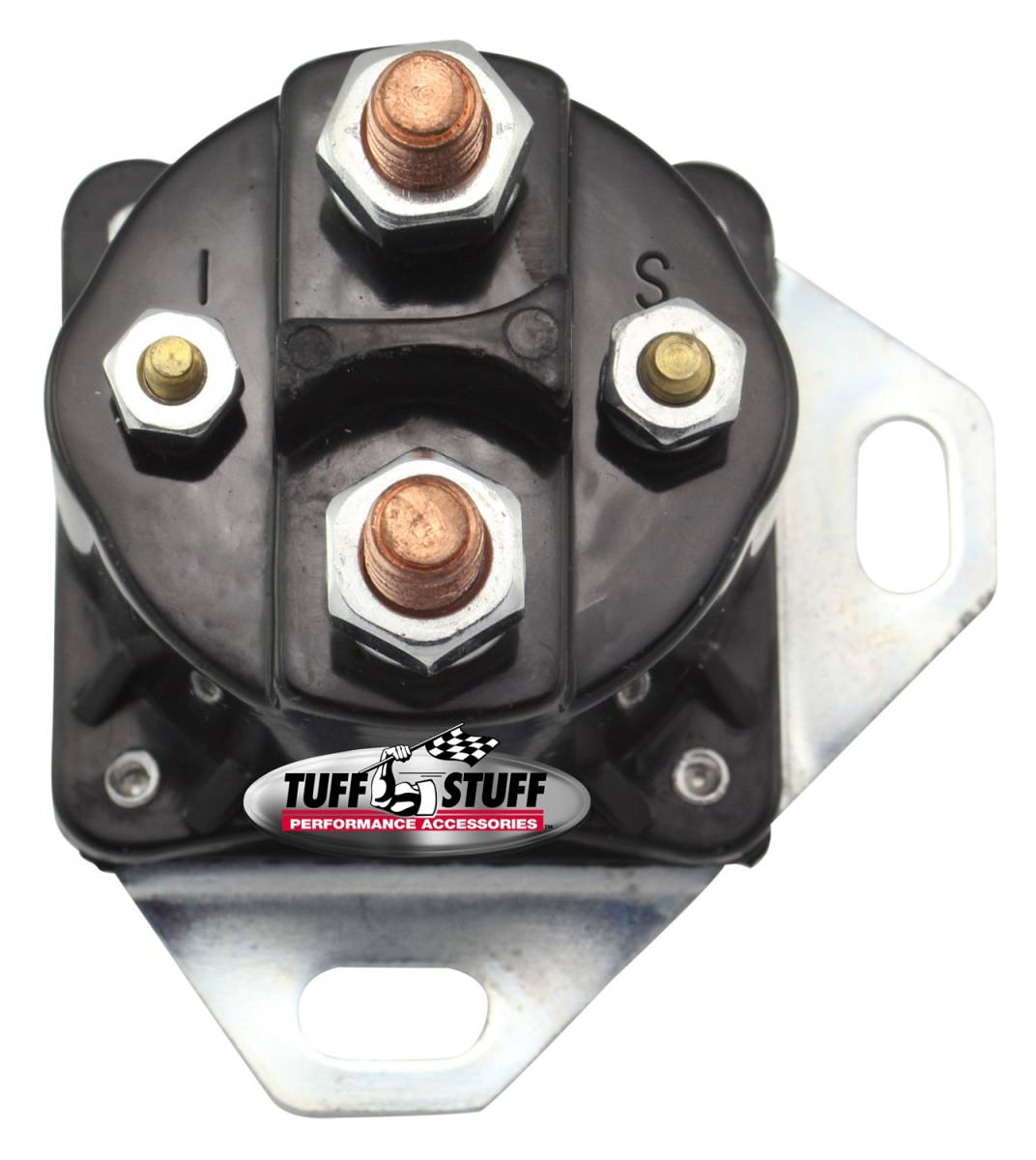 Tuff Stuff Performance - Starter Solenoid Ford Style Remote Solenoid Top Post Terminals 12 Volt 7312