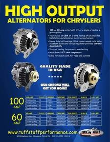 Chrysler Alternator Flyer