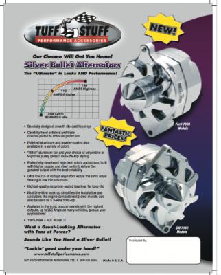 Silver Bullet Alternators