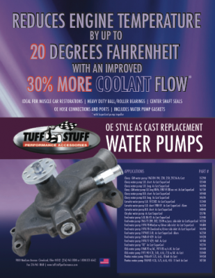 OE Style As Cast Replacement Water Pumps