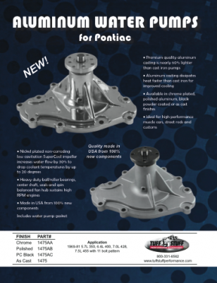Aluminumm Water Pumps - Pontiacs