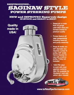 Siginaw Style Power Steering Pumps